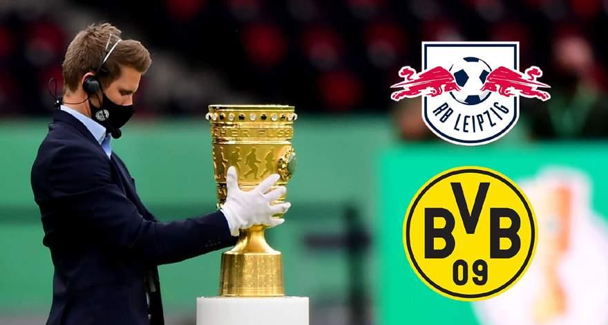 Кубок Германии (финал): «Боруссия» Дортмунд - «РБ Лейпциг» Лейпциг. Перед матчем. Первый финал для обоих тренеров.