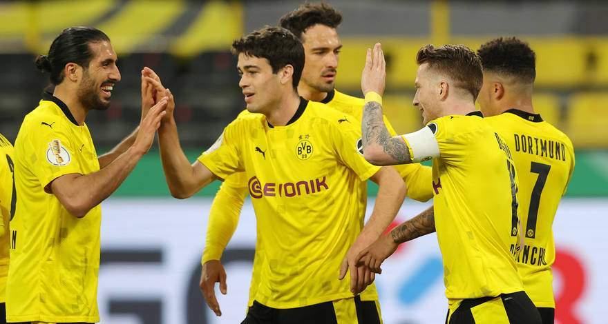 Кубок Германии (полуфинал): «Боруссия» Дортмунд 5:0 «Хольштайн Киль» Киль. Лёгкая победа, омраченная травмой.