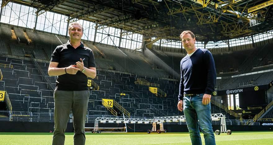 Михаэль Цорк и Ларс Риккен: Дортмундские парни. Чемпионский титул спустя 32 года (1995 год).