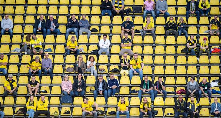 Новая концепция защиты от коронавируса должна позволить фанатам вернуться на стадион «Боруссии».