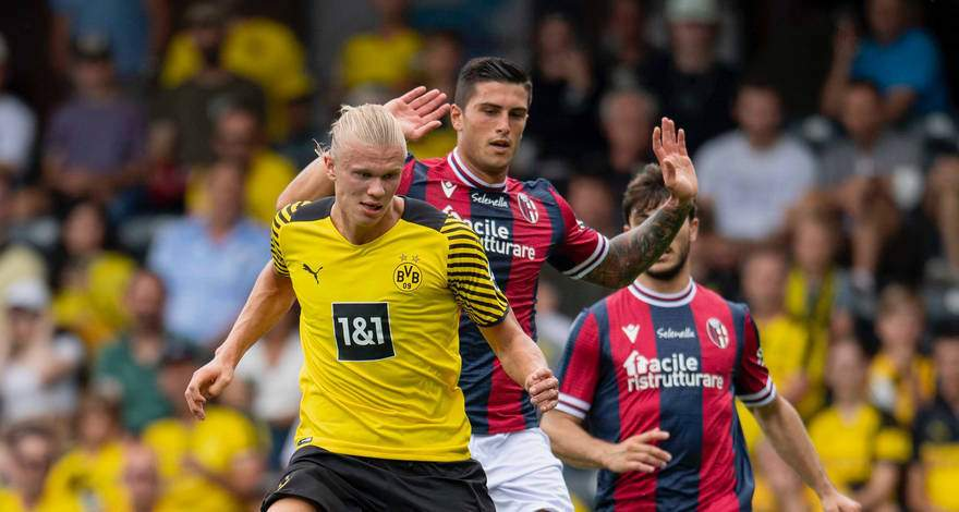 Новая схема пока работает: дортмундская «Боруссия» уверенно переиграла «Болонью».