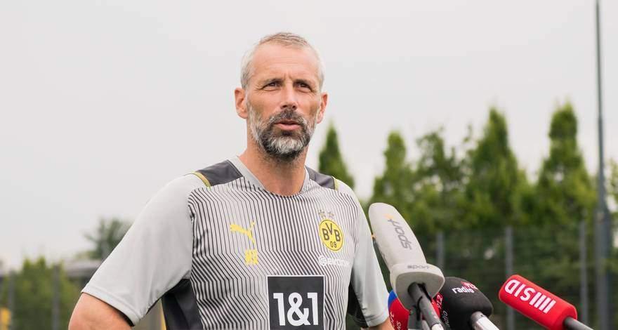 Первое интервью Марко Розе в качестве главного тренера дортмундской «Боруссии»: «Играть в активный и быстрый футбол».