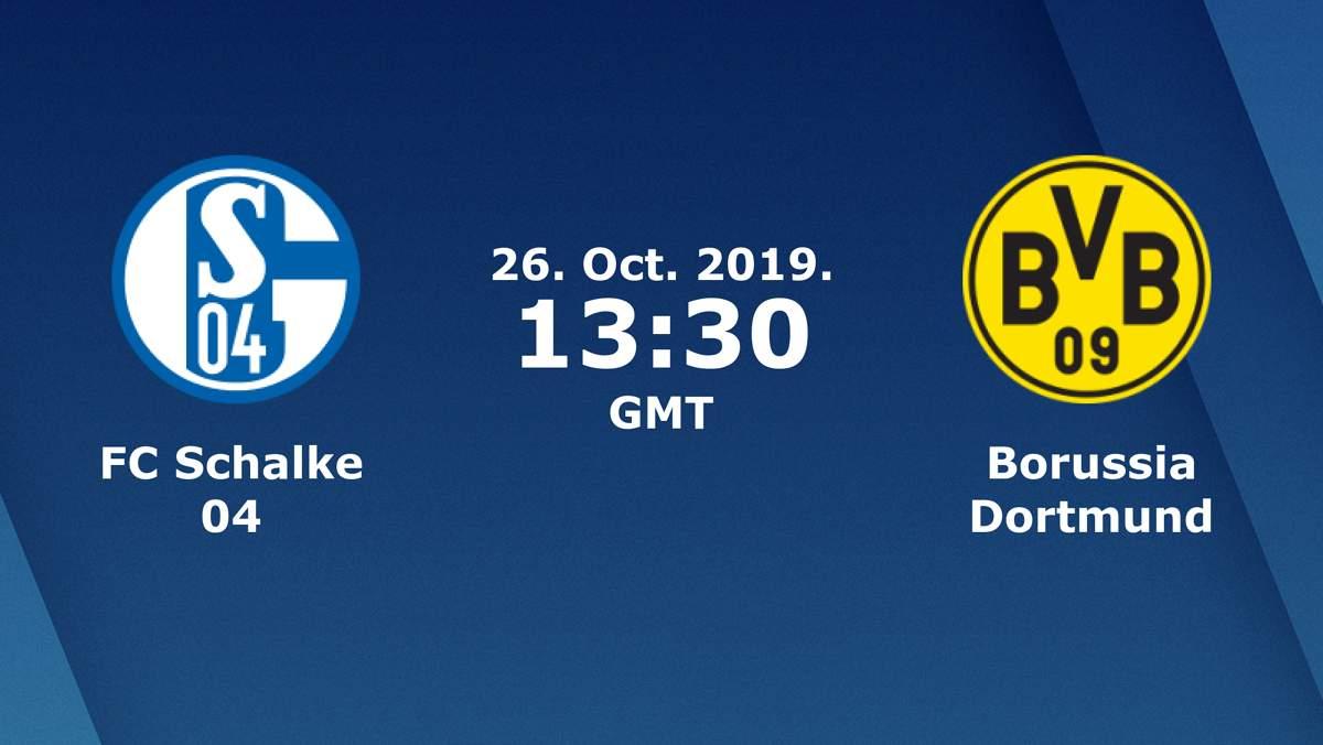 «Шальке» Гельзенкирхен — «Боруссия» Дортмунд. 26.10.2019. Перед матчем.