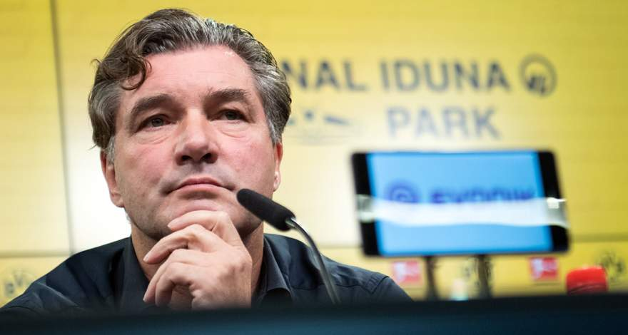 Спортивный директор «Боруссии» Михаэль Цорк: «У нас есть очень чёткие цели». Интервью изданию RN.