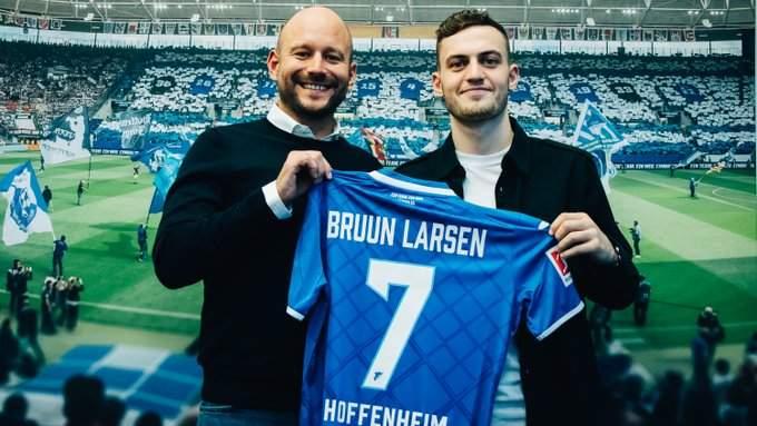 Якоб Бруун Ларсен переходит в «Хоффенхайм».